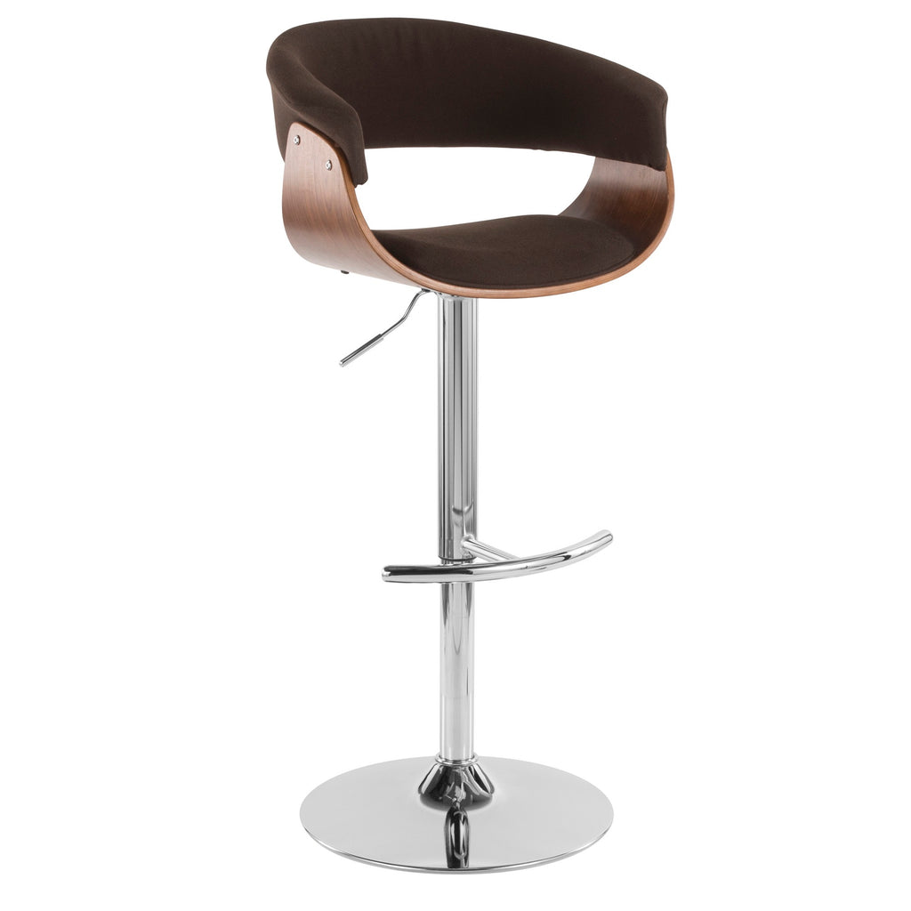 Miles Adjustable Barstool in 4 Color Options