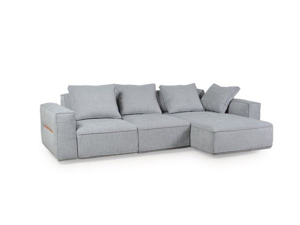 Josie Gray Modular Power Reclining Sectional with Adjustable Backs