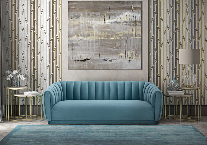 Arnie Channel Tufted Sofa in 3 Color Options