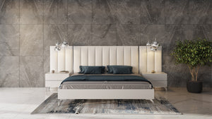 Angel White Italian Bedroom Collection