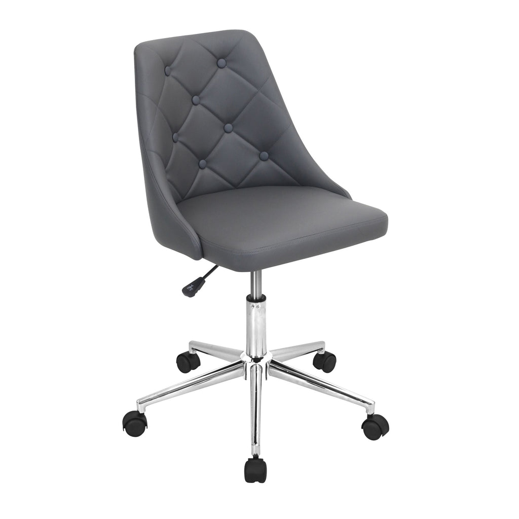 Marcie Chic Button Tufted Office Chair in 4 Color Options