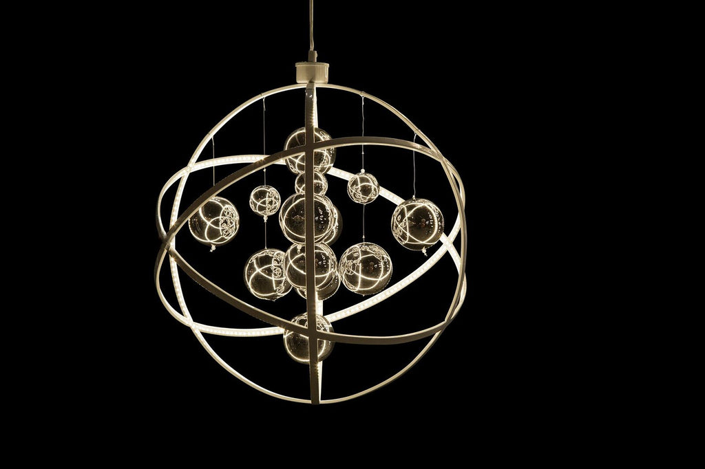 Planetary LED Chandelier in 2 Sizes
