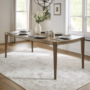 Antique Taupe Extendable Dining Room Collection