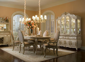 Lavelle Blanc Oval Leg Dining Room Collection