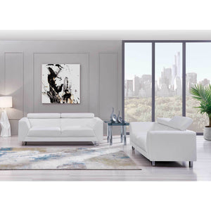 Joey Modern Living Room Collection in Black or White