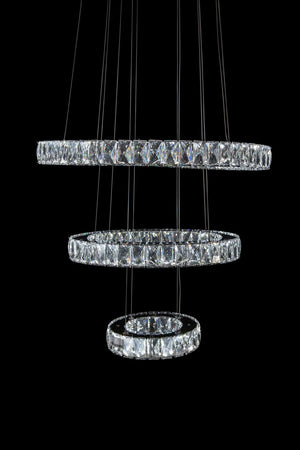 Asteroids LED Chandelier in 2 Sizes