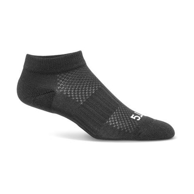 5.11 Tactical PT Ankle Sock - 3 Pack - red-diamond-uniform-police-supply