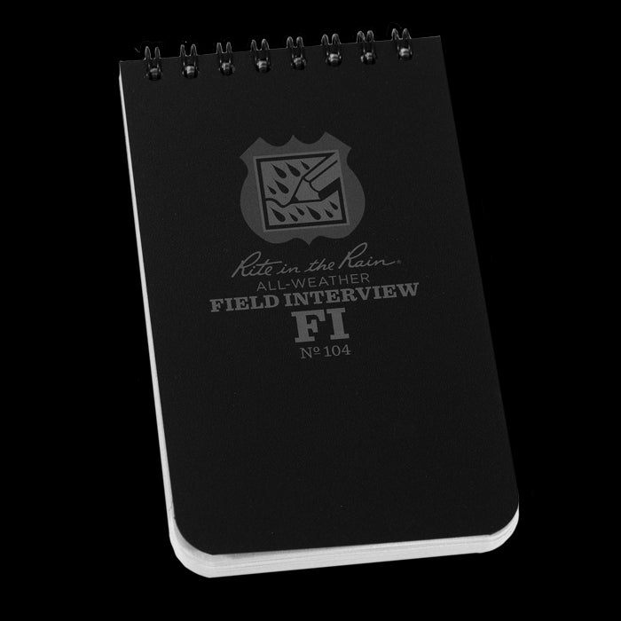 "Rite In The Rain 3""x5"" FIELD INTERVIEW POCKET NOTEBOOK"