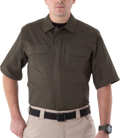 First Tactical Men's V2 Tactical Short Sleeve Shirt - red-diamond-uniform-police-supply