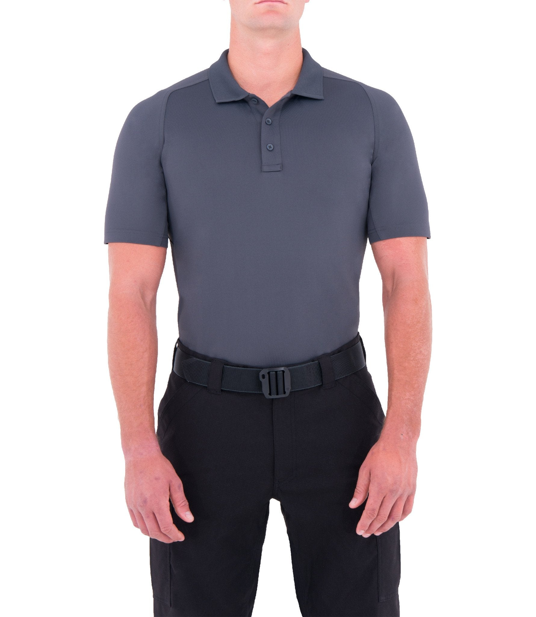 First Tactical Mens Performance Short Sleeve Polo - red-diamond-uniform-police-supply