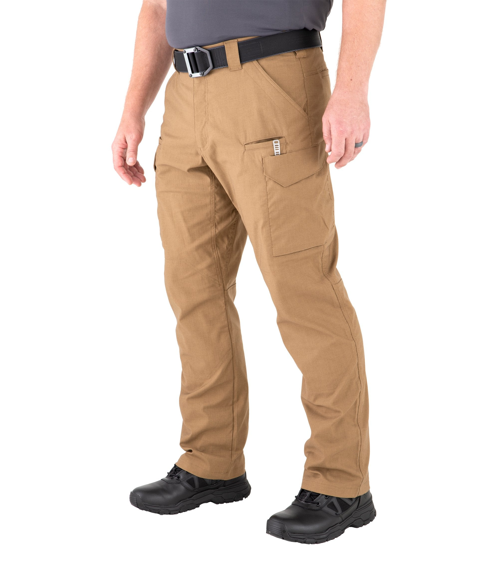 First Tactical V2 Tactical Pants - Mens - Coyote Brown & Kodiak Brown - red-diamond-uniform-police-supply