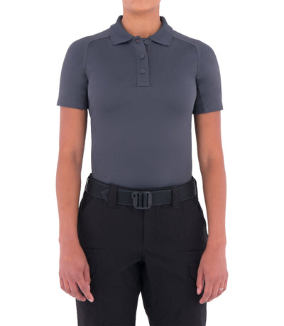 First Tactical Women's Performance Short Sleeve Polo - red-diamond-uniform-police-supply