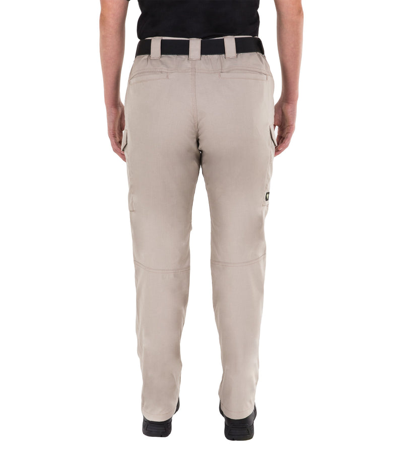 First Tactical Women's V2 Tactical Pants - Black & Khaki