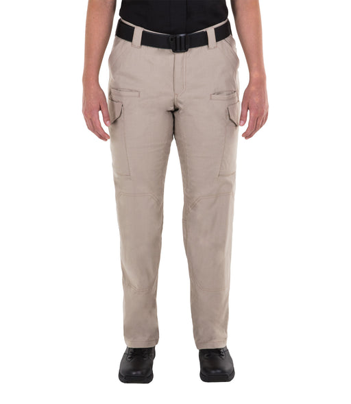 First Tactical Women's V2 Tactical Pants - Black & Khaki - Red Diamond Uniform & Police Supply