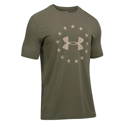 Under Armour Freedom Logo 2.0 T-Shirt - red-diamond-uniform-police-supply