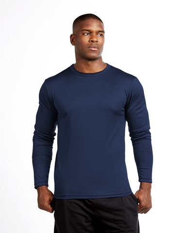 Soffe 100% Polyester Base Layer L/S T-Shirt MADE IN THE USA