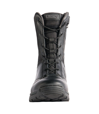 "First Tactical Women's 8"" Side Zip Duty Boots - Red Diamond Uniform & Police Supply"