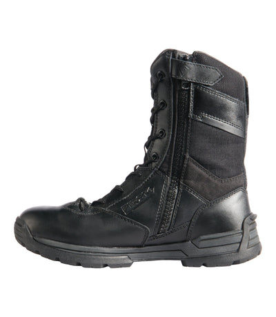 "First Tactical Women's 8"" Side Zip Duty Boots - red-diamond-uniform-police-supply"