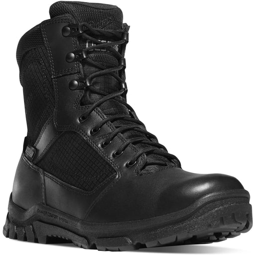 "Danner LOOKOUT SIDE-ZIP 8"" METALLIC TOE - Red Diamond Uniform & Police Supply"