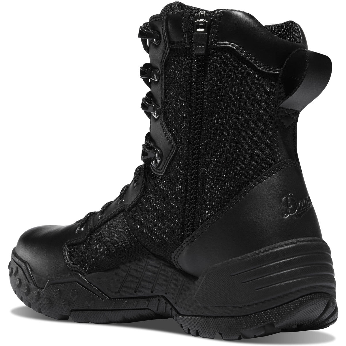 "Danner Scorch Side-Zip 8"" Black Hot - red-diamond-uniform-police-supply"