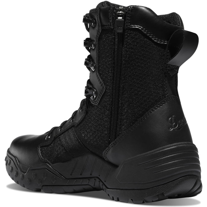"Danner Scorch Side-Zip 8"" Black Hot - Red Diamond Uniform & Police Supply"