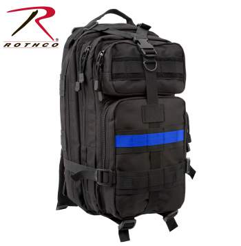 Rothco Thin Blue Line Medium Transport Pack - Red Diamond Uniform & Police Supply