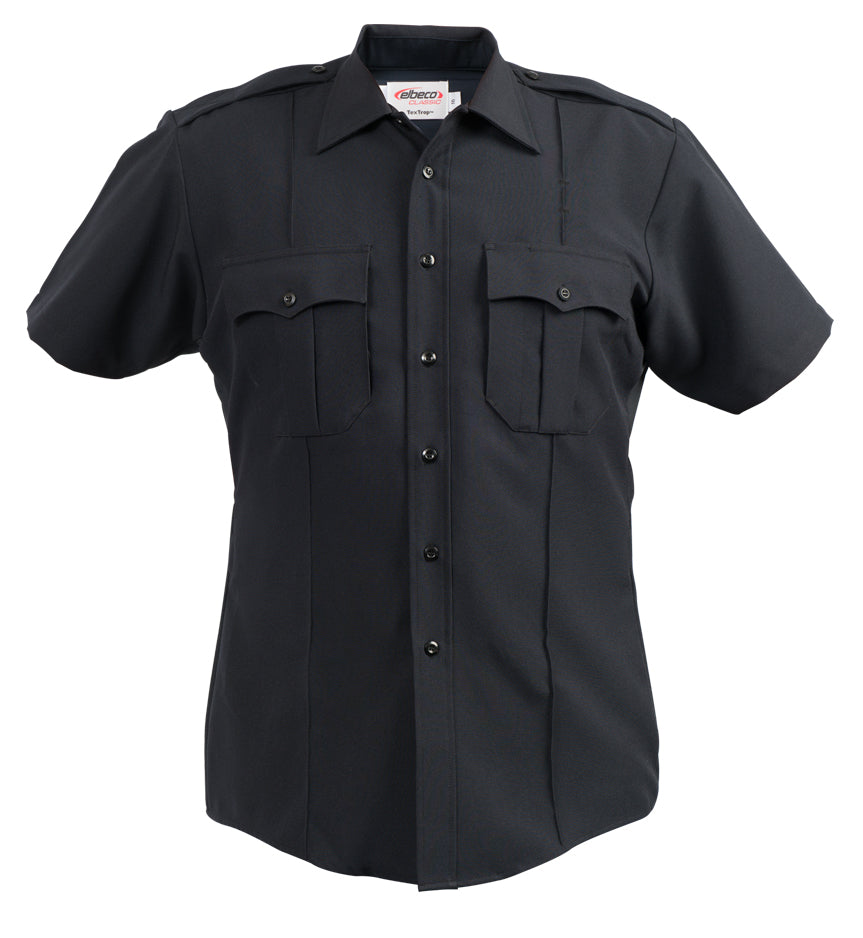 Elbeco Textrop2 S/S Shirts With Zipper -Mens
