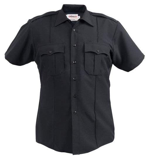 Elbeco Textrop2 S/S Shirts With Zipper -Mens - Red Diamond Uniform & Police Supply