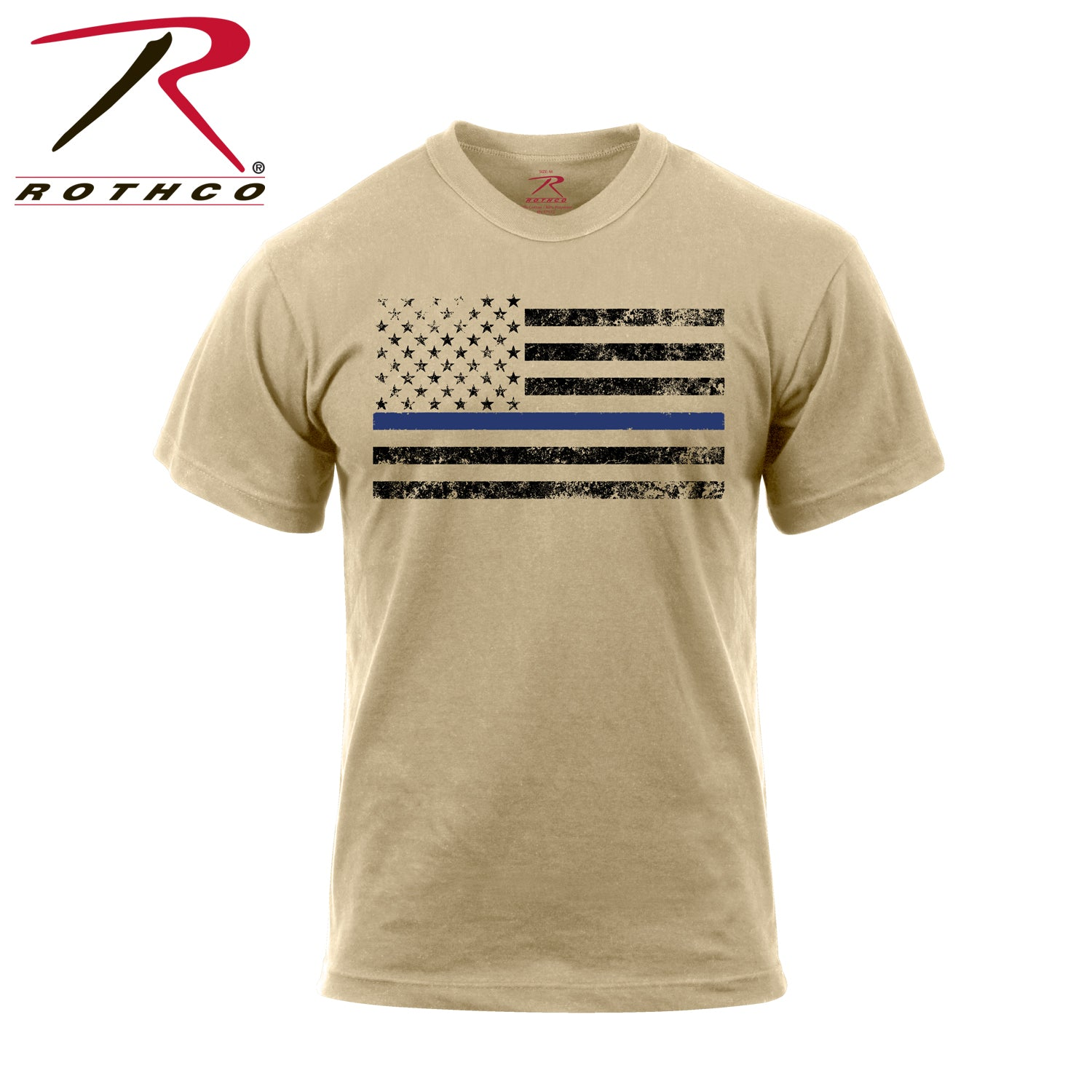 Rothco Thin Blue Line T-Shirt - red-diamond-uniform-police-supply