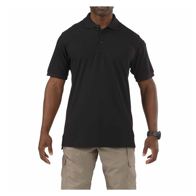 5.11 Tactical Utility Short Sleeve Polo - Red Diamond Uniform & Police Supply