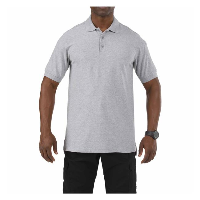 5.11 Tactical Utility Short Sleeve Polo - red-diamond-uniform-police-supply