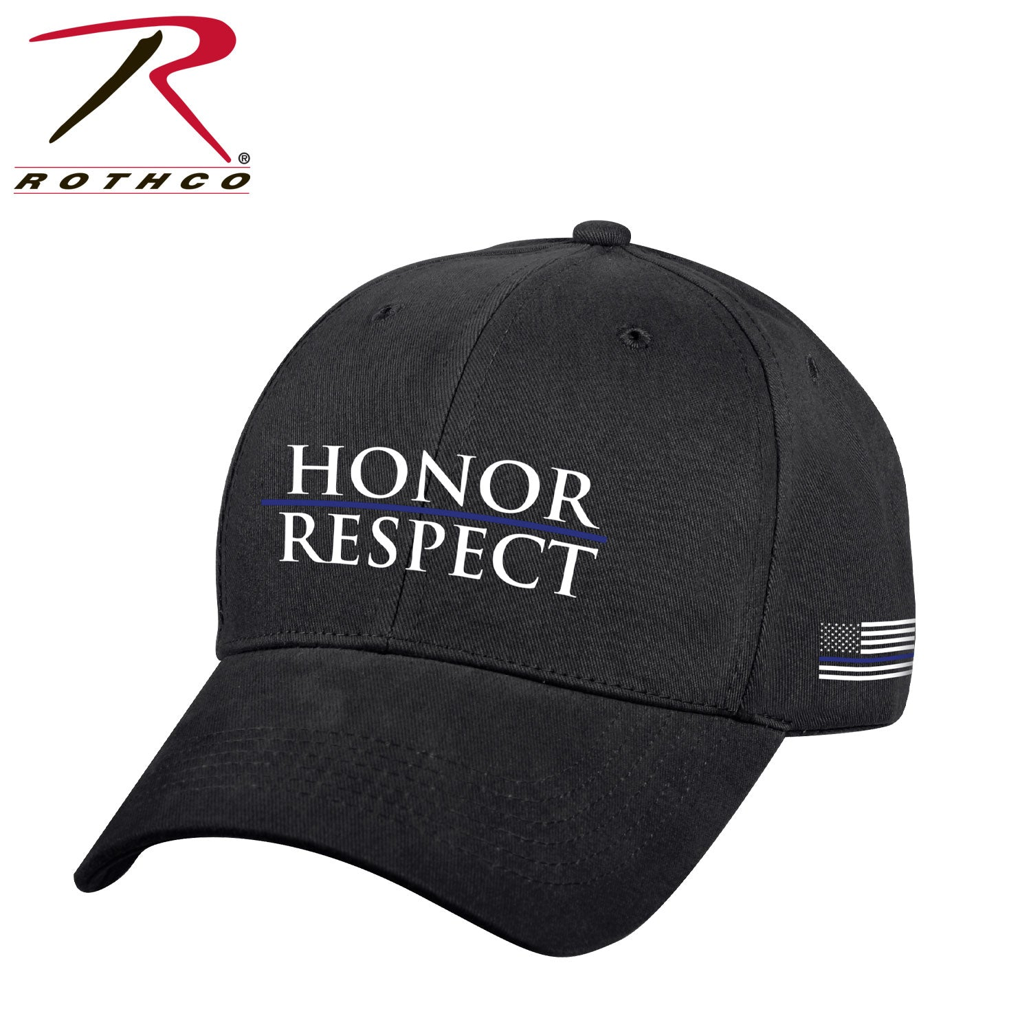 Rothco Honor and Respect Thin Blue Line Low Profile Cap