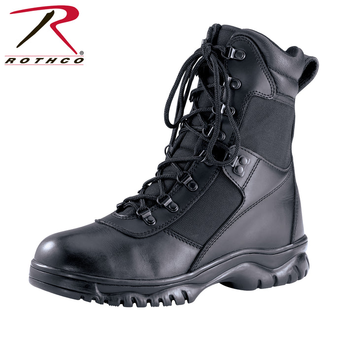 "Rothco 8"" Forced Entry Waterproof Tactical Boot - Red Diamond Uniform & Police Supply"