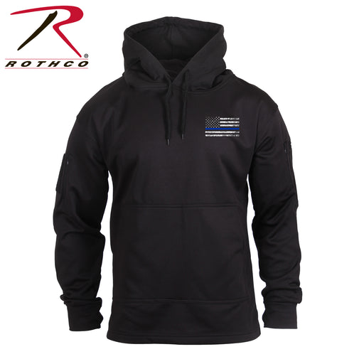 Rothco Thin Blue Line Concealed Carry Hoodie - Red Diamond Uniform & Police Supply