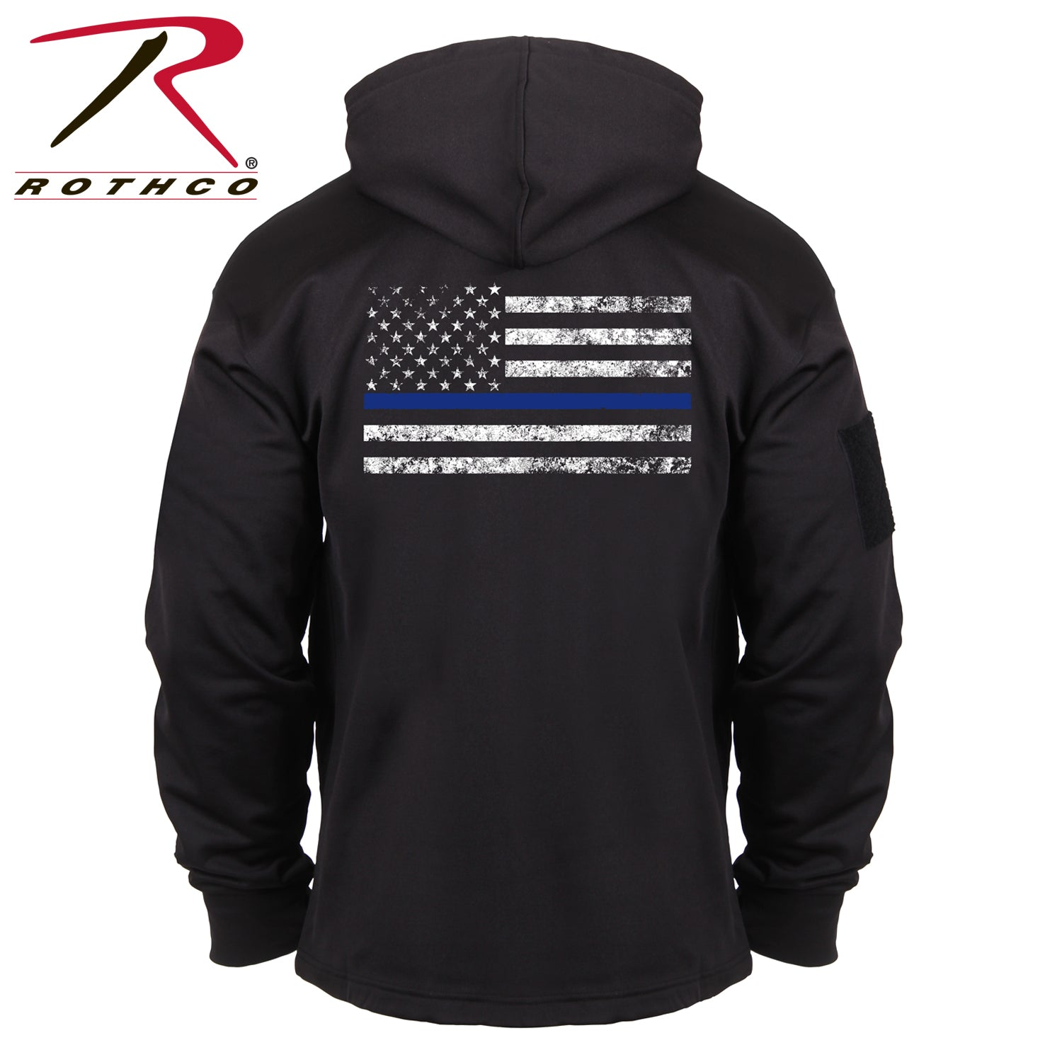 Rothco Thin Blue Line Concealed Carry Hoodie - red-diamond-uniform-police-supply