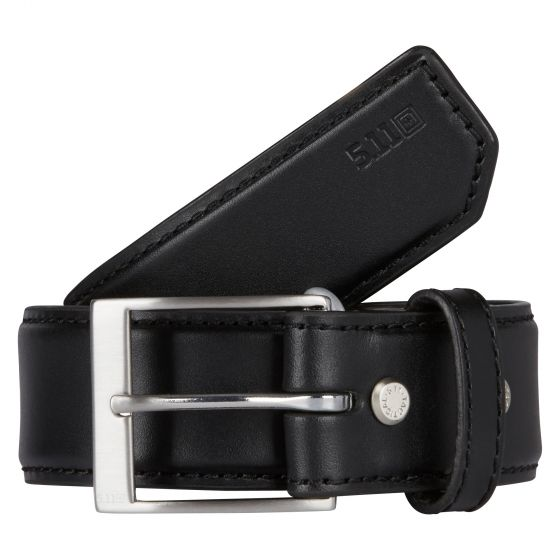 "5.11 Tactical 1.5"" Casual Leather Belt - red-diamond-uniform-police-supply"