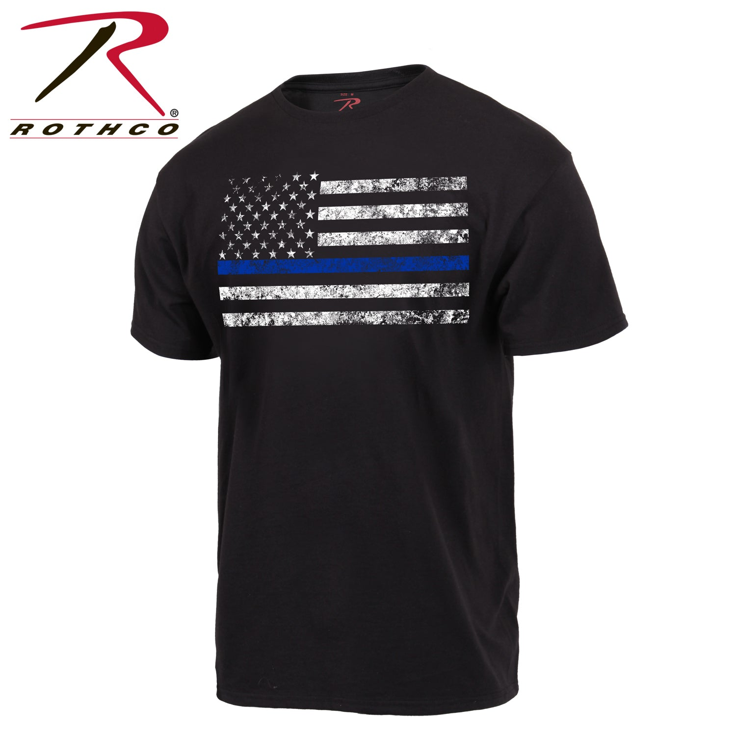 Rothco Thin Blue Line T-Shirt - Red Diamond Uniform & Police Supply