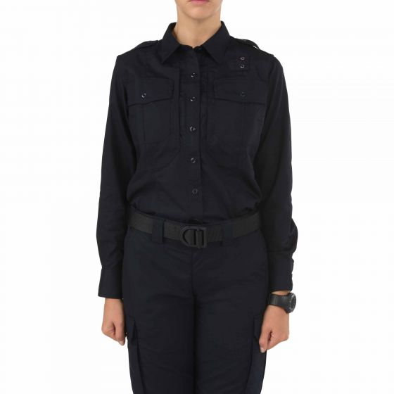 5.11 Tactical Women's TACLITE® PDU® Class-B Long Sleeve Shirt - Red Diamond Uniform & Police Supply