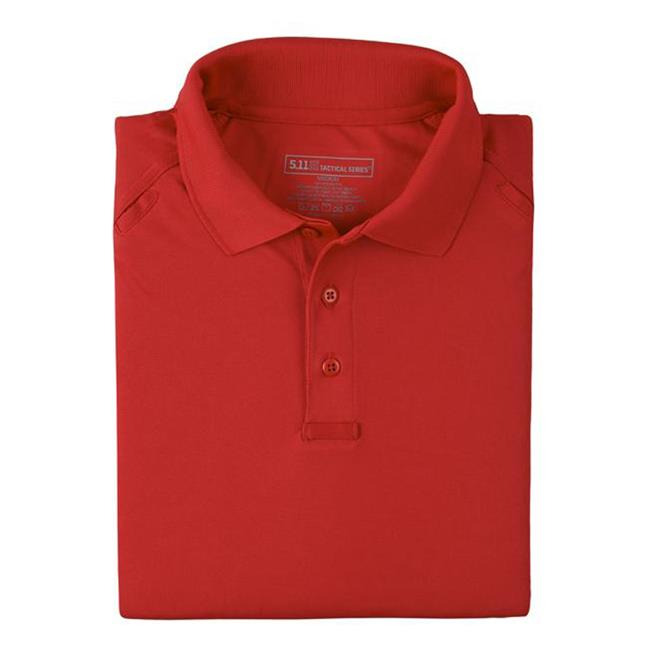 5.11 Tactical Performance Short Sleeve Polo - Red Diamond Uniform & Police Supply