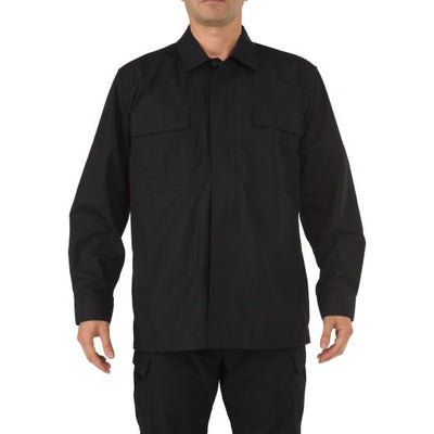 5.11 Tactical TDU® Long Sleeve Shirt - red-diamond-uniform-police-supply