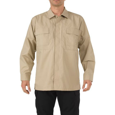 5.11 Tactical TDU® Long Sleeve Shirt - Red Diamond Uniform & Police Supply