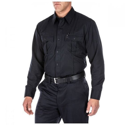 5.11 Tactical Class A Fast-Tac® Twill Long Sleeve Shirt - red-diamond-uniform-police-supply