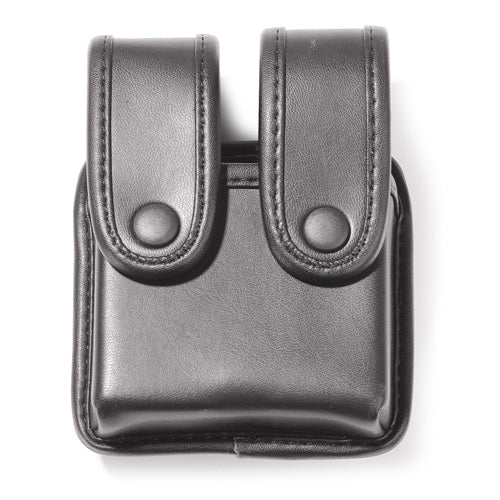 Uncle Mike's Mirage Plain Double Stack Duty Double Pistol Mag Case