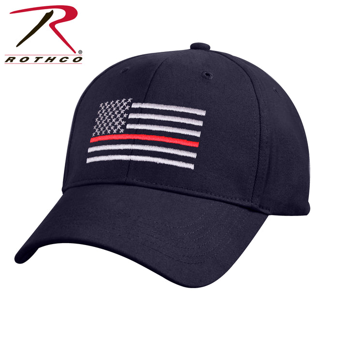 Rothco Thin Red Line Flag Low Profile Cap - Red Diamond Uniform & Police Supply