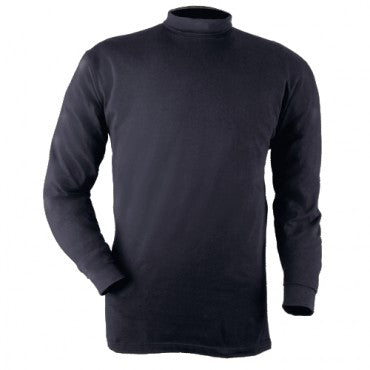 Blauer Mock Turtleneck