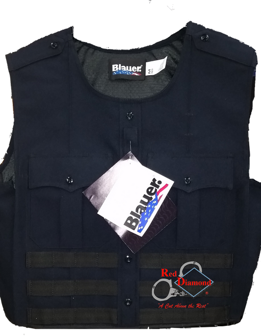 Blauer Polyster Armorskin Vest Carrier W/ Molle - Red Diamond Uniform & Police Supply