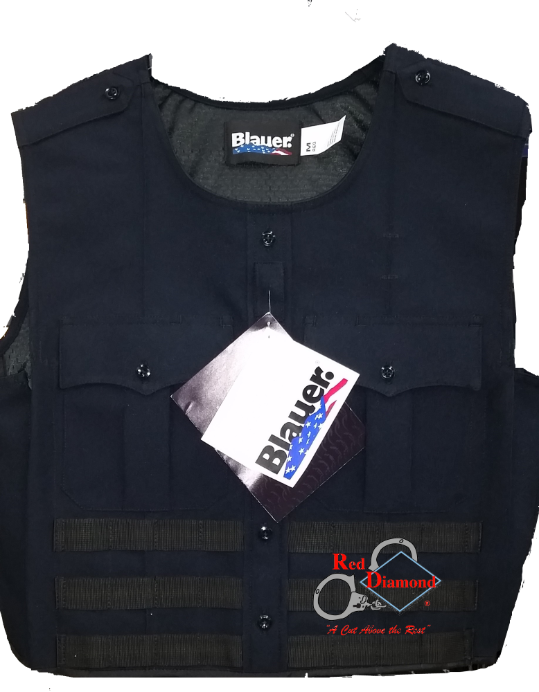 Blauer Polyester Armorskin Vest Carrier W/ Molle Webbing - red-diamond-uniform-police-supply