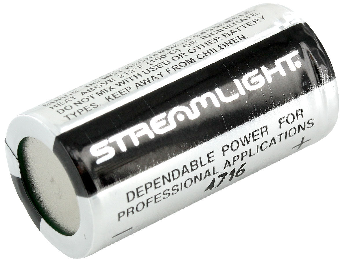 Streamlight CR123 Batteries - red-diamond-uniform-police-supply
