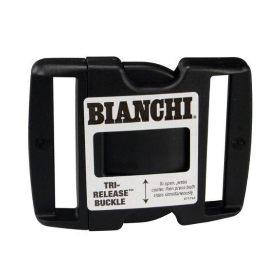 "Bianchi Tri Release 2.25"" Plastic Belt Buckle - red-diamond-uniform-police-supply"