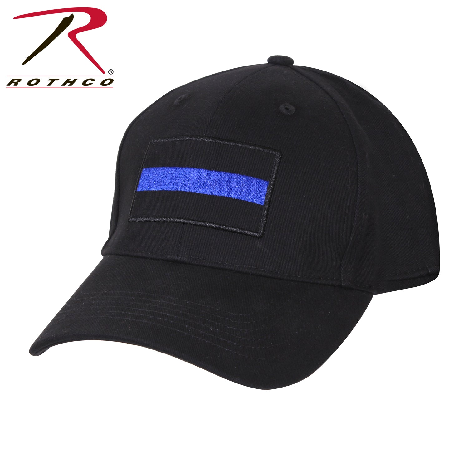 Rothco Thin Blue Line Low Profile Cap - red-diamond-uniform-police-supply